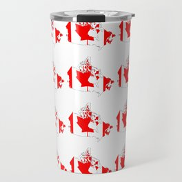 flag of canada 4-canadian,canadien,canadiense,ottawa,toronto,montreal. Travel Mug
