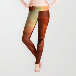Magical Antelope Canyon Leggings