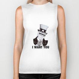 """Karl """"I want you!"""" Biker Tank"""