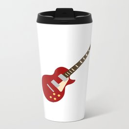 Gibson Les Paul Red Metal Travel Mug