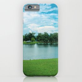 At the Park I iPhone Case