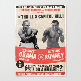 The Thrill on Capitol Hill (2) Canvas Print