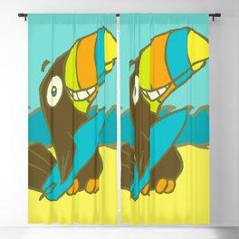 Surfin' Toucan! Blackout Curtain