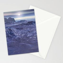 Frozen Sea of Neptune Stationery Cards