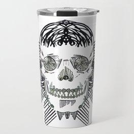 VA-RI-NATION SKULL Travel Mug