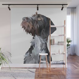 German Wirehaired Pointer Wall Mural