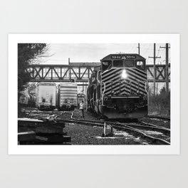 Switching Freight Art Print