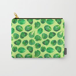 Brussel sprouts pattern for veggie lovers Carry-All Pouch