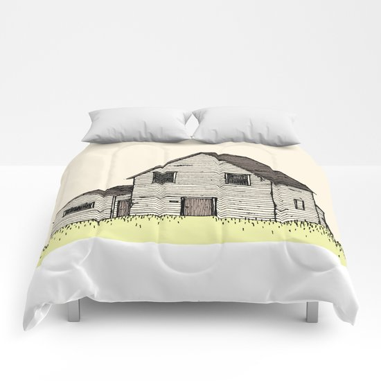 old house Comforters