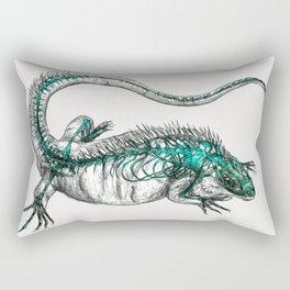 Cayman/Blue Iguana Rectangular Pillow