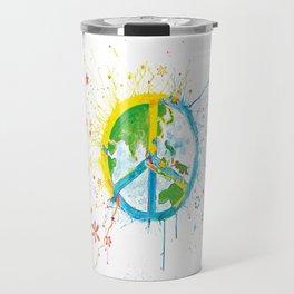 Peaceful World Travel Mug