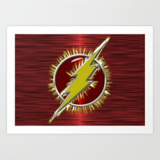 Electrified Flash Art Print
