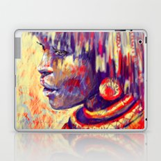 African portrait Laptop & iPad Skin
