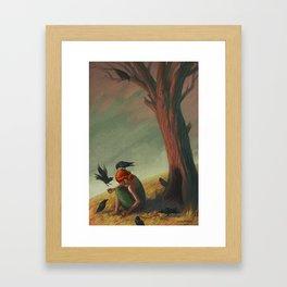 The Seven Ravens Framed Art Print