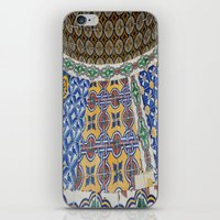 mexican iPhone & iPod Skins featuring Mexican Tiles by Renee Trudell