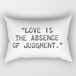 Dalai Lama quote Rectangular Pillow