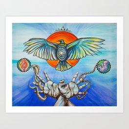 Integration Art Print