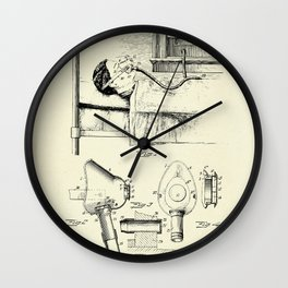Respirator-1911 Wall Clock