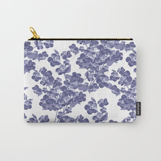 Floral pattern 14 Carry-All Pouch