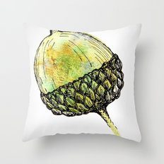 acorn Throw Pillow