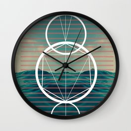 Dark but that light Wall Clock