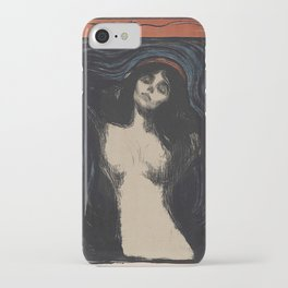 MADONNA - EDVARD MUNCH iPhone Case