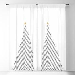 Minimal Christmas Tree #society6 #decor #buyart Blackout Curtain