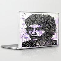 bob dylan Laptop & iPad Skins featuring Bob Dylan by Travis Poston