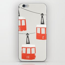 Barcelona Cable Cars iPhone Skin