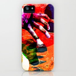 look in the junk pool iPhone Case