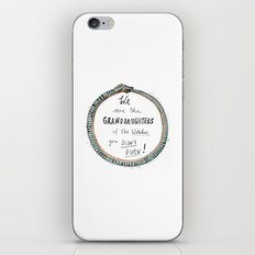 Ouroboros of the Witches iPhone & iPod Skin