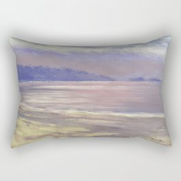 Horizon; View from Savary Island Rectangular Pillow