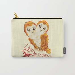 Optimistic Owl Carry-All Pouch