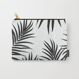 Palm Leaves Pattern Summer Vibes #2 #tropical #decor #art #society6 Carry-All Pouch
