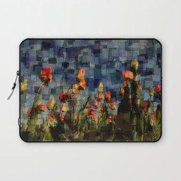 Champ de Tulipes Mosaïque Laptop Sleeve