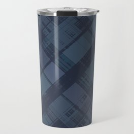 City Blocks Night Travel Mug