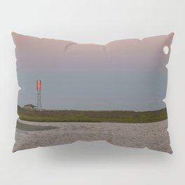 Romantic Galveston Beach Strawberry Full Moon Pillow Sham