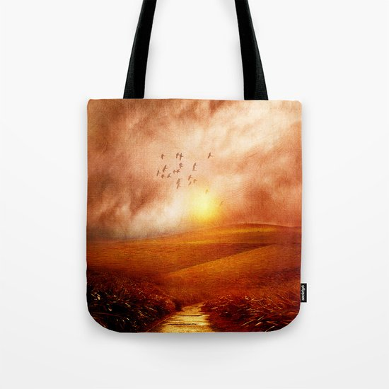 when the darkness, shine Tote Bag