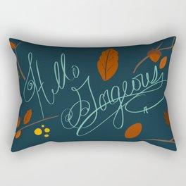 Hello Gorgeous! Rectangular Pillow