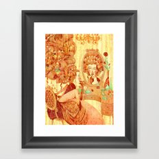 All the bells and whistles Framed Art Print
