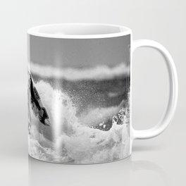 surf santa - wind surf Coffee Mug