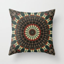 Celtic Knot Mandala Throw Pillow