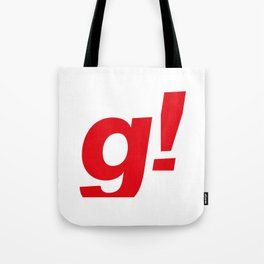 the g! Tote Bag