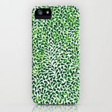 Leafy greens iPhone (5, 5s) Slim Case