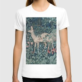 William Morris Forest Deer T-shirt