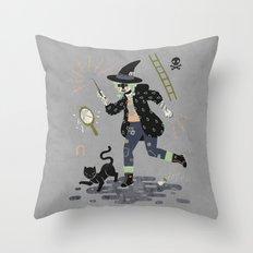 Curses! Throw Pillow