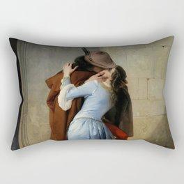 Francesco Hayez - The Kiss Rectangular Pillow