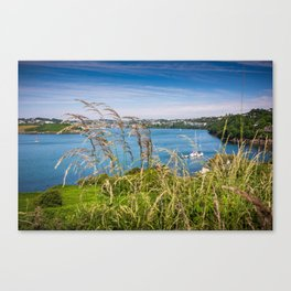 View of Kinsale, Ireland from Summer Cove Canvas Print