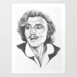 Young Frankenstein by Aaron Bir Art Print