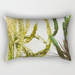 California Cactus Garden Rectangular Pillow